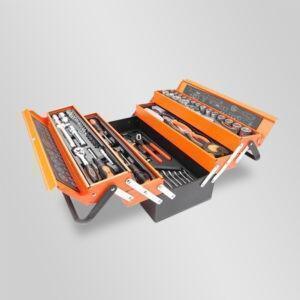 caisse à outils métal samtools couleur orange