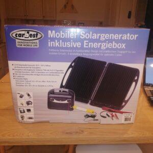 Générateur d'énergie solaire autonome panneau solaire autonome 12/24v en vente chez dstock41