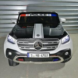 Mercedes enfant Classe X police 2x12v 4 moteurs en vente chez dstock41