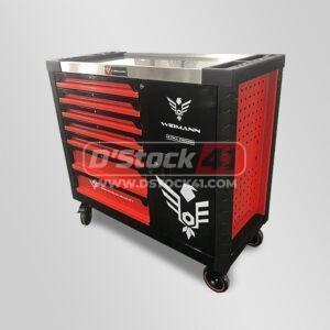 servante à outils widmann 7 tiroirs remplis d'outils vendue par DSTOCK41
