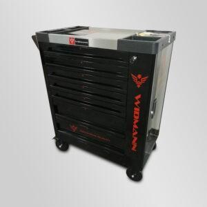 Servante d'atelier Widmann 7 tiroirs 6 remplis + clé dynamométrique Model 2021 (option 7ème module) vendue par Dstock 41