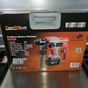 Perforateur SDS 20v brushless Kraftmuller Pro line en vente chez dstock41