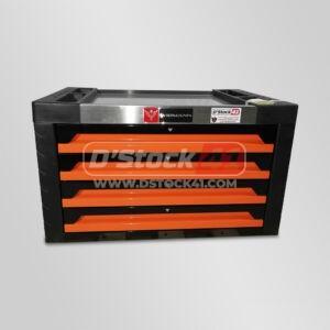 mini-servante à outils widmann complètement remplis d'outils vendue par dstock 41 couleur orange