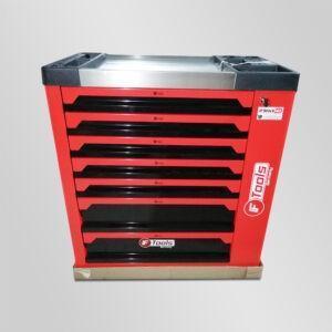 Servante d'atelier Ftools 7 tiroirs dont 6 remplis d'outils + clé dynamométrique Edition Mécano D'Stock 41 Kraftside