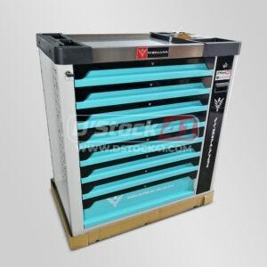 servante à outils de la marque widmann comportant 9 tiroirs vendue par DSTOCK 41